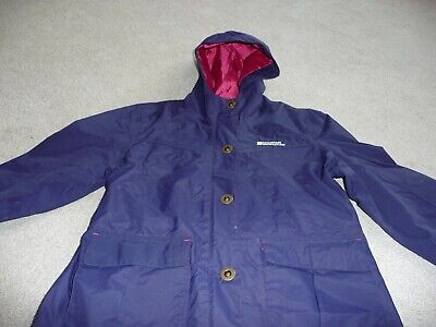 Mountain Warehouse for Kids..Girl's navy raincoat..age 9-10 yrs. Good condition