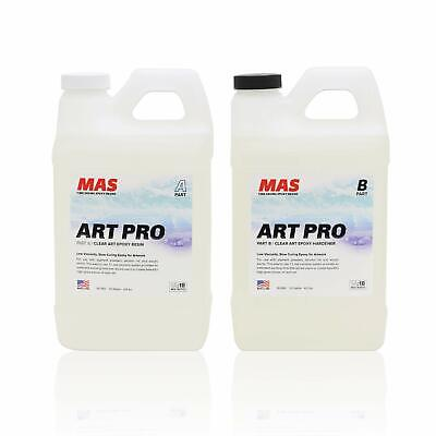 Details about  Art Epoxy Resin And Hardener Two Part Art Resin Professional Gra