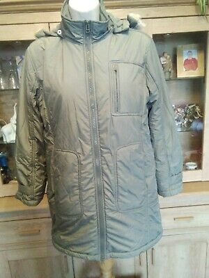 MEXX JACKET Girls, Size M 146-152 Age 10/12,  Sage Green ,Hooded, Excellent VGC