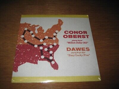 Conor Oberst Dawes Million Dollar Bill Easy Lucky Free 7 Inch Single Sealed Rare
