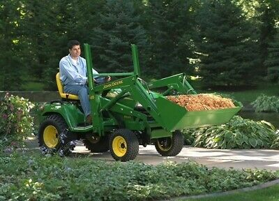 john deere front loader ( Tractor not included )