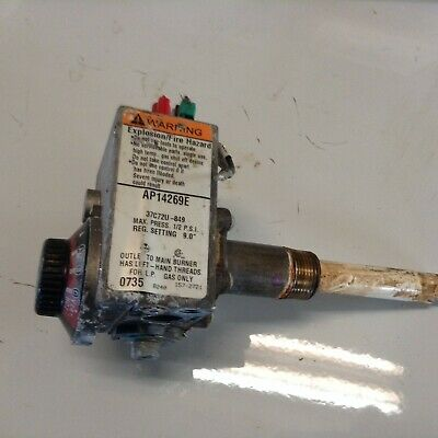 AO Smith White Rodgers 37C72U 849 Water Heater Thermostat Gas Valve AP14269E