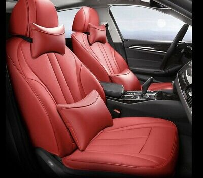 AUDI A3 8V SPORTBACK 2014 2015 2016 Red  LEATHER TAILORED SEAT COVERS Prot