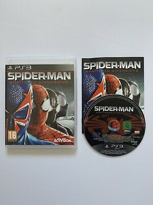 Spider-Man Shattered Dimensions - PlayStation 3 PS3 - Free P+P