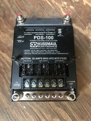 Kussmaul PDS-100 Power Distribution System 390-5711-0 Rev 000 NEW