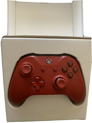 Microsoft Xbox WL3-00028 Wireless Controller - Red
