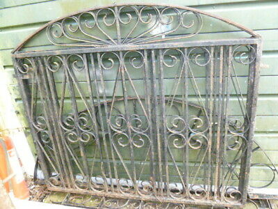 2 old Wroght Iron   drive gates with posts