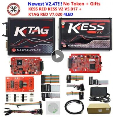 2018 Online Ktag V7.020 Kess V2 V5.017 V2.23 No Token Limit ECU Programming Tool