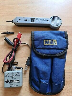 Greenlee Cable & Pair Finders / Tone testers, Generator & Probe