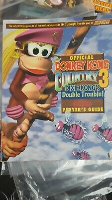 Vintage 1996 Donkey Kong Country 3 Nintendo Player's Guide-Gd. Cond!(051906)