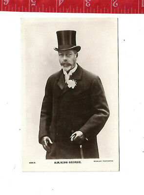 vintage post card His Majesty King George