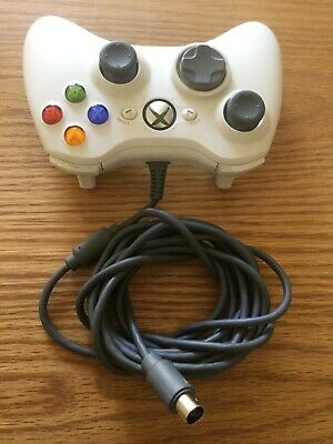 Official Genuine Original Microsoft Xbox 360 Wired Controller