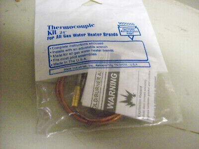 """g) State Industries 24"""" Thermocouple 9000056"""