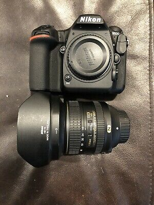 Nikon D D500 20.9MP Digital SLR Camera - Black (Kit w/ 16-80 AF-S DX ED VR Lens