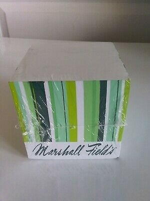 Vintage Marshall Fields memo paper cube - FREE SHIPPING
