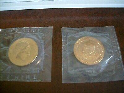 President Copper Toned Medal Coin in US MINT Package - *Lot of 2 Coins***