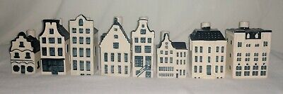 Blue Delfts Houses made for KLM by BOLS lot  8