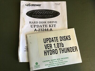 Midway Hydro Thunder software update kit