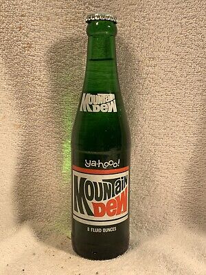 FULL 8oz MOUNTAIN DEW YA-HOOO! ACL SODA BOTTLE