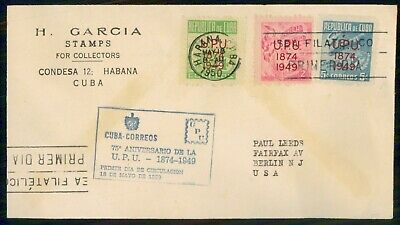 Mayfairstamps Habana FDC 1950 UPU Combo First Day Cover wwe_81997