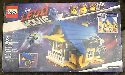 NEW LEGO Movie 2 Minifigure Emmet 70831 apocalypse burg house E/&L card rocket