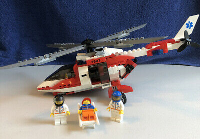 LEGO City Rescue Helicopter #7903 Retired -(see info)