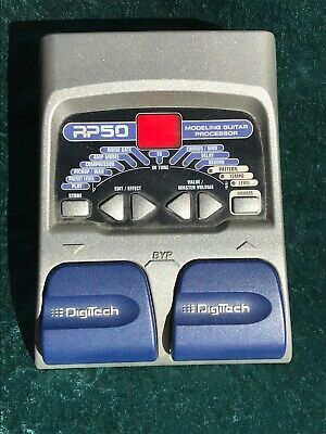 Digitech RP50 Guitar Multi Effects Amp Modeling Pedal