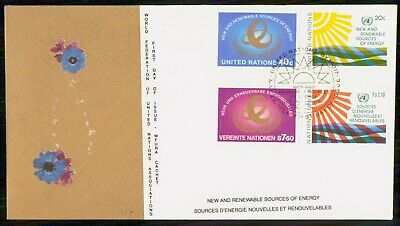 Mayfairstamps United Nations FDC 1981 New and Renewable Sources Combo First Day