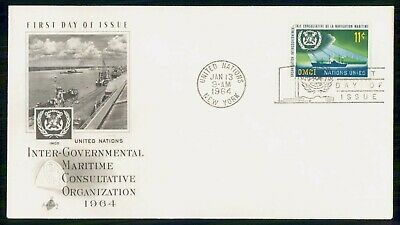 Mayfairstamps United Nations FDC 1964 IMCO Ships First Day Cover wwe_82383