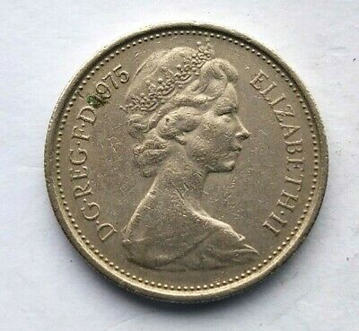 Great Britain 5 New Penny 1975