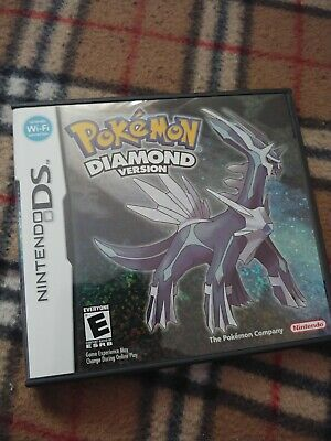 Pokemon Diamond Case and Manual ONLY No Game