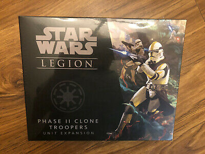 Star Wars Legion Phase II Clone Troopers - Phase 2 Never Opened