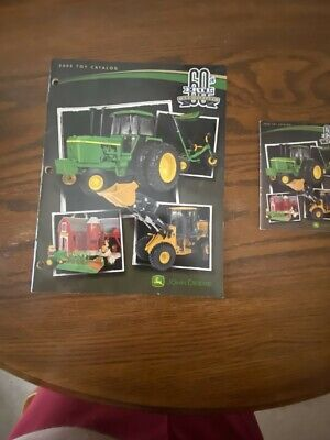 John Deere 2005 Toys And Replicas From Ertl Full Size And Pocket Catalogs 60Th A