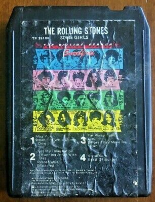 ROLLING STONES - Some Girls - 8 track tape 1978