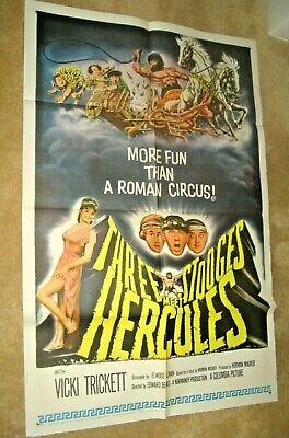 3 STOOGES MEET HERCULES '63     Great graphics and condition