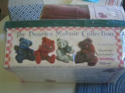 Bearies Mohair Collection Teddy Bear Kit by Artist Linda Mead - Spare Bear Parts