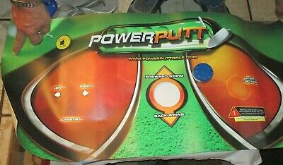 It Power Putt Control Panel Overlay