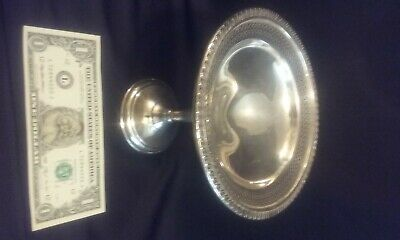 sterling silver large candy dish