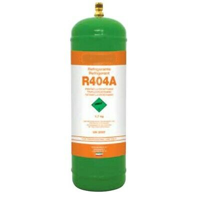 1.8 Kg R404A Refrigerant Gas Refillable Cylinder