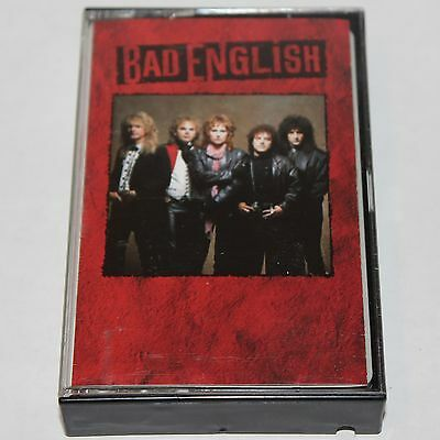 Bad English S/T Cassette Tape 1989 Hard Rock Supergroup The Babys OET 45083