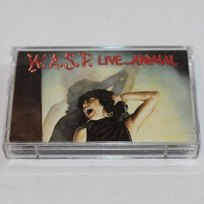 W.A.S.P. Cassette Tape Live ... Animal '87 Heavy Metal Maxi Single EP 72235