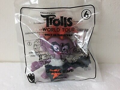 """NEW 2020 McDonald's Dreamworks Trolls World Tour """"QUEEN BARB"""" #6 Happy Meal Toy"""