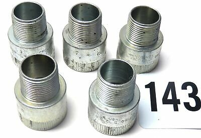 """10X Crouse 3/4"""" to 1"""" Steel Explosion-Proof M/F Conduit Enlarger Adapter REA23"""