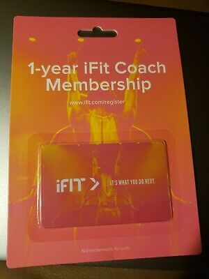 1 Year IFit Coach Membership (top trainers, global workouts and studio classes)