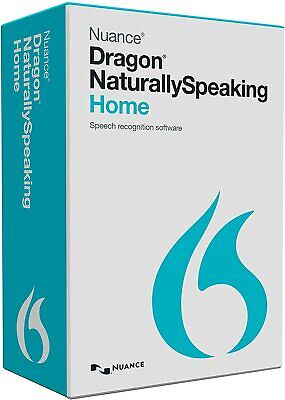 Nuance Dragon Naturally Speaking Home 13 W/ Headset Speech Recognition Software