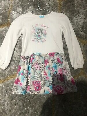 Pampolina girls dress age 6 years - With cord Skirt And Jewels