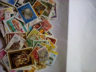 Whole World Stamp Assortment, 500 stamps, all off paper and in good condition