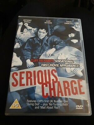 Serious Charge - Region 2 DVD UK - Cliff Richard - VGC