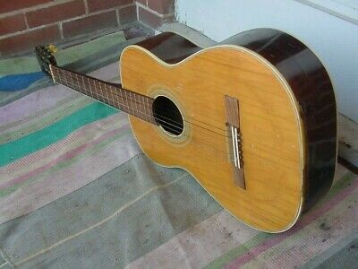 Vintage Acoustic Guitar Cracked Damaged Parts Project  Wall Art