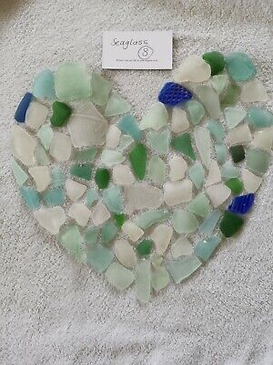 Seaglass bundle handcollected and washed from the North east of England